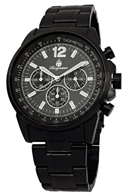 Burgmeister BM608-622 Washington, Gents watch, Analogue display, Chronograph with Citizen Movement - Water resistant, Stylish stainless steel bracelet, Classic men's watch