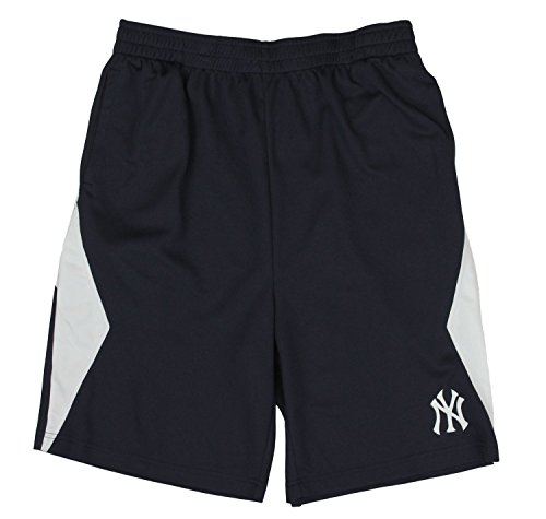 Outerstuff New York Yankees MLB Little Boys and Big Boys Shorts - Navy Blue (2XL ()