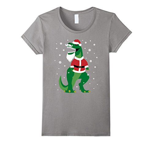 Women (T-rex Costume Santa)