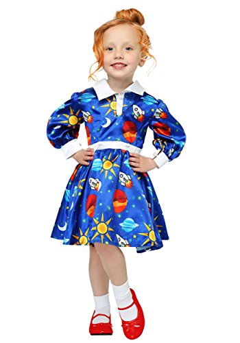 Magic School Bus Ms. Frizzle Toddler Costume 4T -