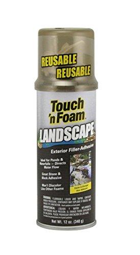 Dap 40440 12 Pack 12 oz. Touch 'n Foam Landscape Exterior Filler Adhesive, Black