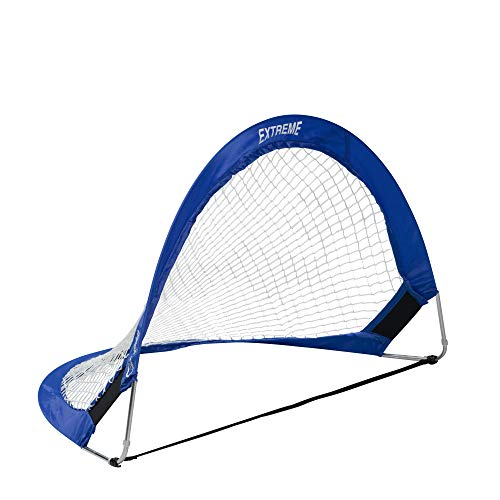 Champion Sports Extreme Soccer Portable Pop-Up Goal, Blue