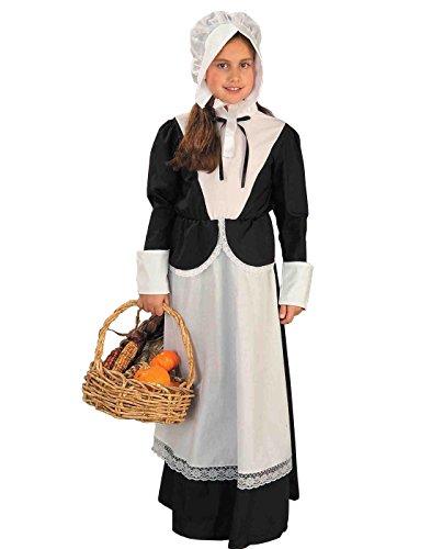 Forum Novelties Pilgrim Girl Costume, Child's (Girls Unique Costumes)