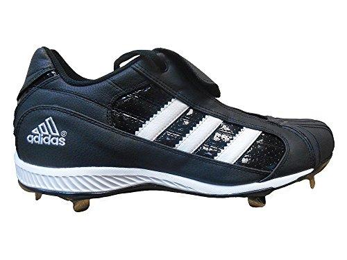 Adidas Heren Diamant Koning Lx Metalen Noppen (laag) Zwart / Wit