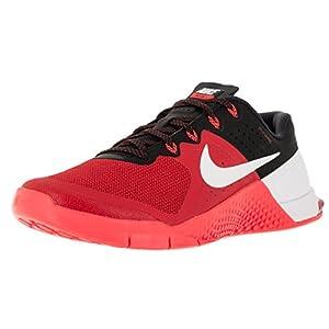 NIKE Mens Metcon 2 Training Shoes University Red/Black/White 819899-610 Size 10.5