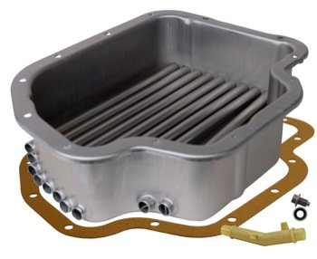 (Derale 14202 Transmission Cooling Pan for GM Turbo 400 Deep Pan )