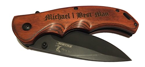 Personalized Knife | Groomsmen Gift | Custom or Monogram -