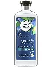 Herbal Essences bio:renew Purify Micellar Water & Blue Ginger Shampoo 400ml