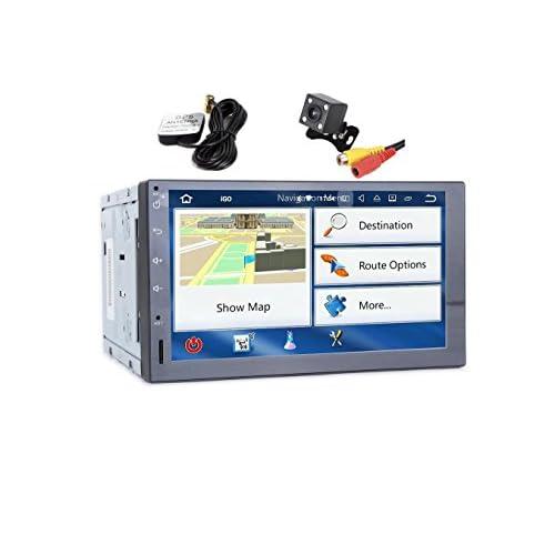 TOOPAI Autoradio Android 7.1 GPS Multimédia intégré pour NISSAN PALADIN (2005 à 2011)