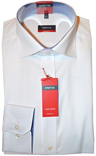 Eterna Herren Business-Hemd Weiß Weiß