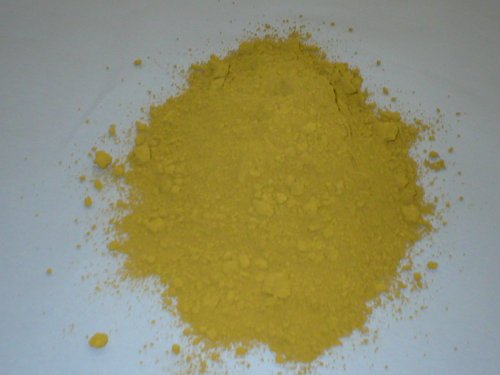- 1 lb. YELLOW Powdered Color for Concrete, Plaster, Cement