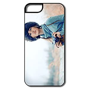 Custom Cute Cases Photographer Girl For IPhone 5/5s