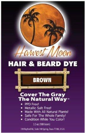 Brown Henna Hair Dye 100 Grams by Moon Harvest (Image #1)