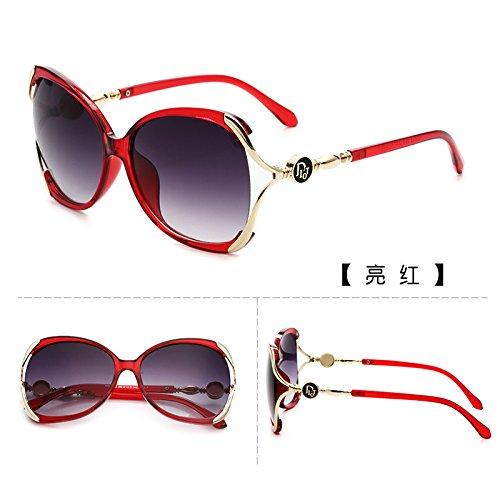 Sunyan Lunettes de soleil, marée féminin nouvelles étoiles, yeux visage rond, élégant coréen lunettes, lunettes de soleil de la personnalité ronde 9822