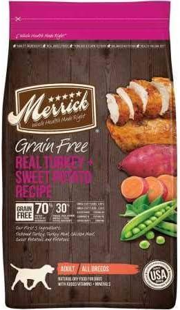 Merrick Grain Free Dry Dog Food – Variety Flavors