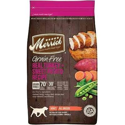 Merrick Grain Free Real Turkey Sweet Potato Recipe Dry Adult Dog Food (4 lb)