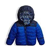 The North Face Infant Reversible Perrito Jacket - Bright Cobalt Blue - 3M (Past Season)