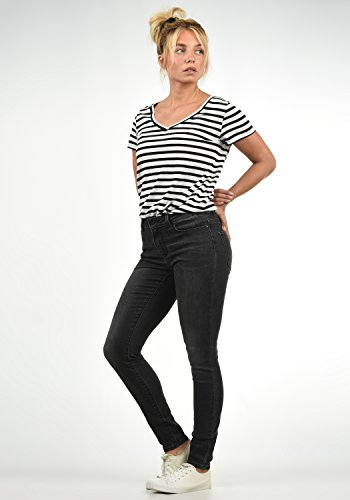 Mid Femme Taille Jeans Pantalon Vero Diamond Grey L32 M Couleur pour Denim Strech Rise Moda WRnnY4v8