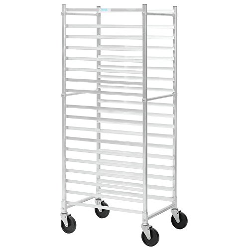 Load Rack Bun Pan (HUBERT End Load Bun Pan Rack For 18 Pans Aluminum - 26