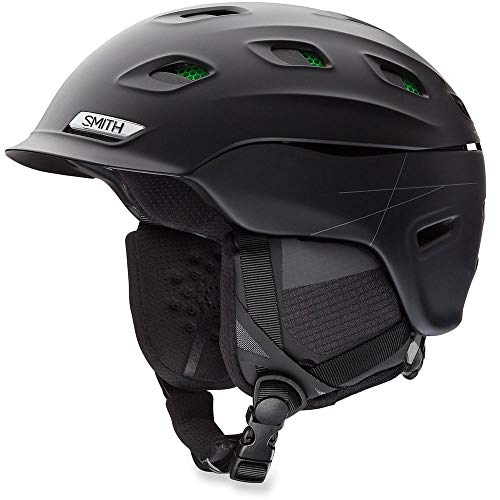 Smith Optics Unisex Adult Vantage MIPS Snow Sports Helmet - Matte Black XLarge (63-67CM) from Smith Optics