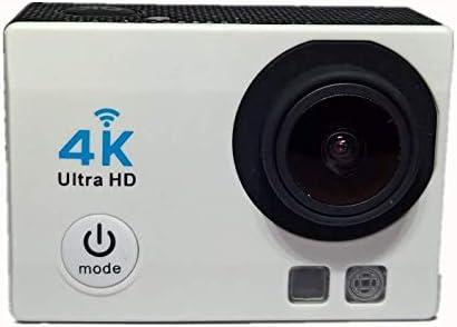 TYZY Se Divierte la cámara Impermeable al Aire Libre Alta Definición Acción Inteligente WiFi de la cámara inalámbrica Movimiento DV Adecuado para la Escalada en Roca natación Buceo y el esquí,Blanco: Amazon.es: