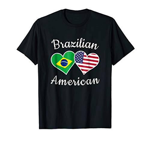 Brazil USA Shirt | Brazilian American Tee Men Women Kids