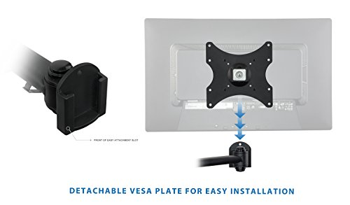 mount it lcd tv wall mount bracket with full motion swing out import it all. Black Bedroom Furniture Sets. Home Design Ideas