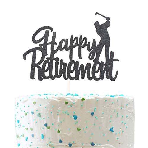 Happy Retirement Cake TopperFarewell