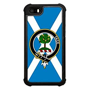 Abercrombie (or Abercromby) Family Crest Scottish Clan Garter Click America Tuff Impact iPhone 5s Case