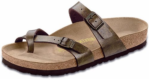 Birkenstock Women's Mayari Sandal,Golden Brown,40 EU/9-9.5 M US