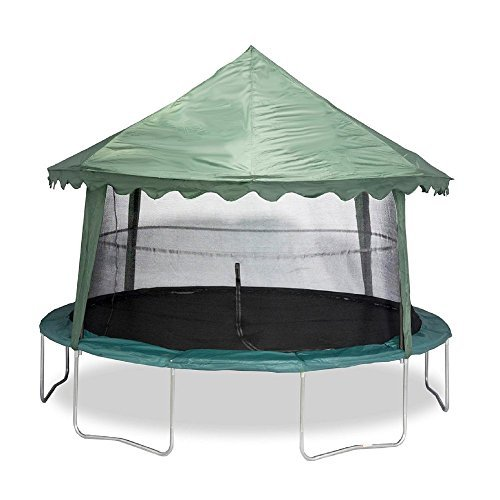 Jumpking 14 ft. Solid Green Canopy Cover