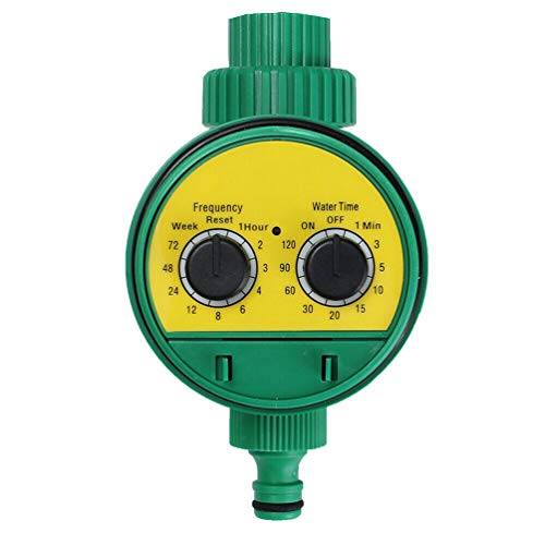 Equipment Hose Timers Single Outlet Hose Faucet Timer Waterproof Suit for Garden Drip Irrigation Kit by GEMYON