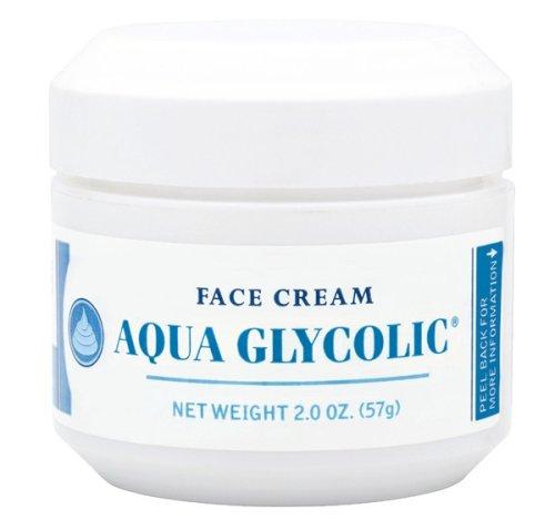 Crème Visage Aqua glycolique, 2-Onces