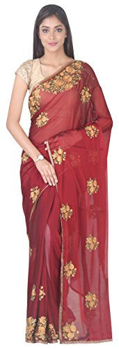 SF With Simaaya Saree SP126588 Blouse Fashion Piace Georgette x4qqEwtfOY