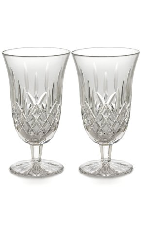 Waterford Iced Beverage Glasses, Set of 2 Lismore (Waterford Crystal Iced Beverage Glass)