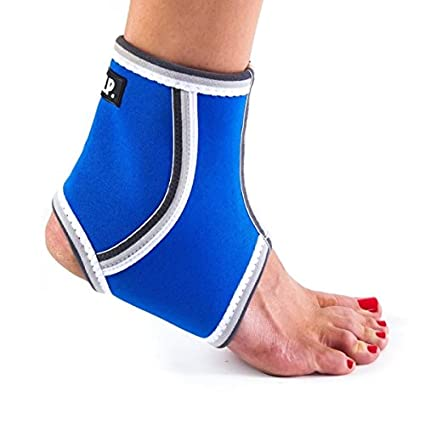 22d5418bec Image Unavailable. Image not available for. Color: Black Mountain Products Breathable  Lightweight Neoprene Ankle Brace/Ankle Compression Sleeve ...
