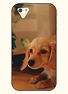 OOFIT Phone Case design with Cute Dog for Apple iPhone 4 4s 4g