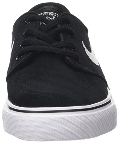 Nike Stefan Janoski Gs Barn Svart / Vit Skateboard Sneakers - 3,5
