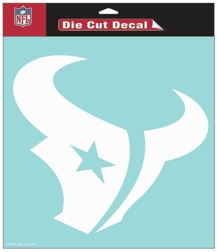 WinCraft NFL Houston Texans Die-Cut Decal, 8