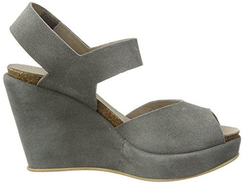 Mentor Mentor Wedge Sandal - Sandalias de Plataforma Niñas Grau (Grey)