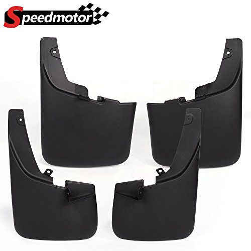 (Splash Guard Mud Flaps Fender Mudguards for 2011-2016 Ford F-250 F-350 F-450 F-550 Super Duty with The Factory Wheel Lip moldings 2012 2013 2014 2015)