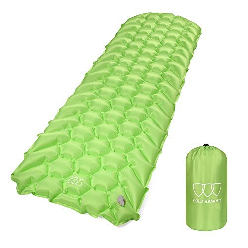Cheap Gold Armour Sleeping pad for Camping Lightweight (Green)