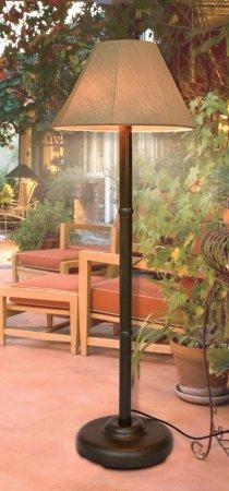 Outdoor Lamp company 110Brz Traditional Shade Lamp - (Bronze Outdoor Floor)