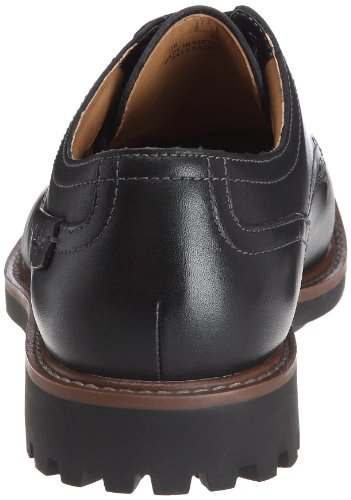 Clarks Montacute Hall - Zapatos con cordones para hombre Black Leather