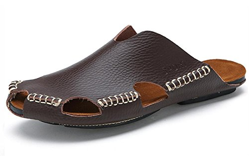 Los nuevos hombres del verano de cuero transpirable sandalias sandalias 3