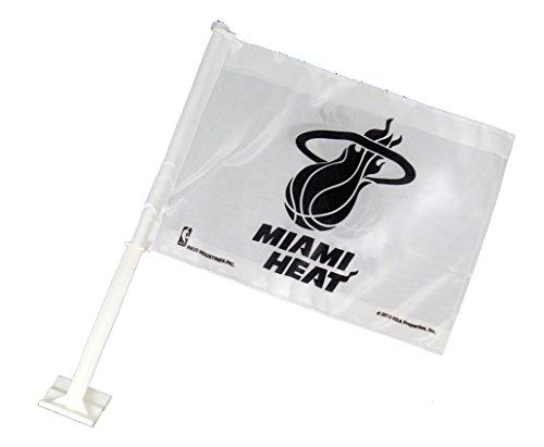 miami heat car flag - 7