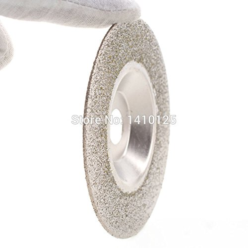 JOINER 100 mm 4 inch Diamond Coated Grinding Disc Wheel Grit 60 Coarse Arbor Hole 16 mm 5//8