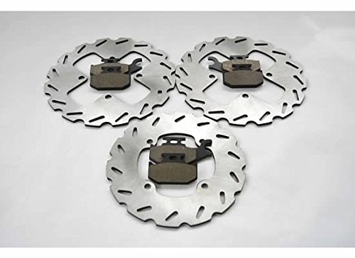 Can-Am Outlander 800 XT Front and Rear Sport Brake Rotors and Brake Pads by CycleATV