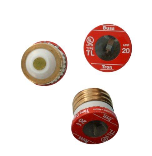 Leviton 7942-20 20-Amp Time Delay Plug Fuse