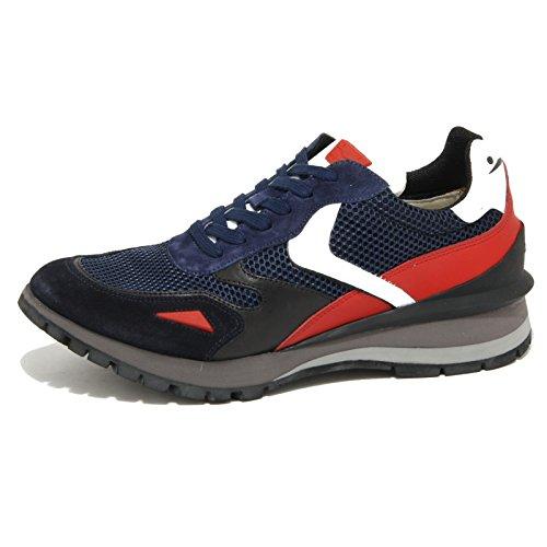 0848O sneaker VOILE BLANCHE UWE scarpe UOMO shoes men blu/rosso/nero
